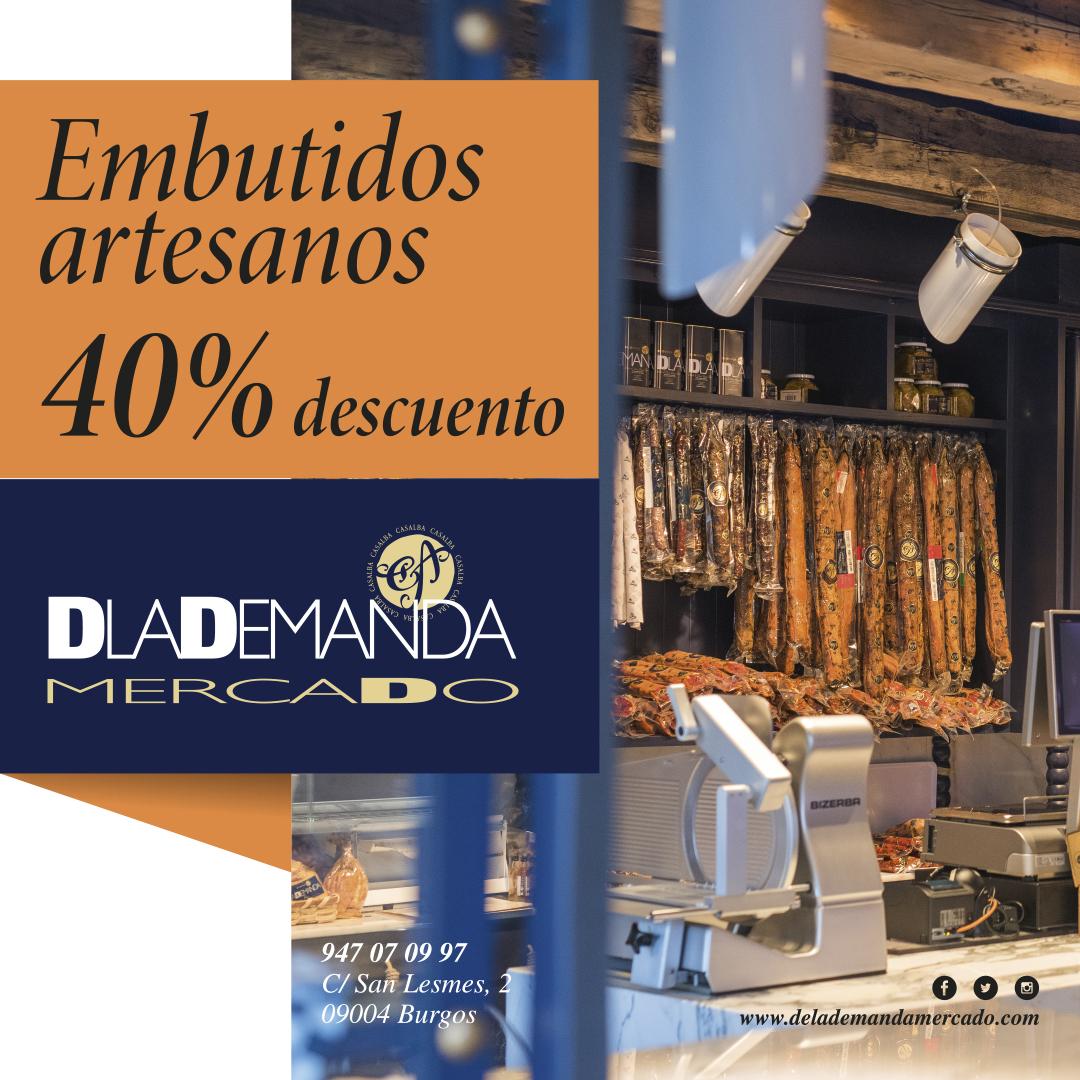 embutidos ibéricos promoción Dlademanda Mercado